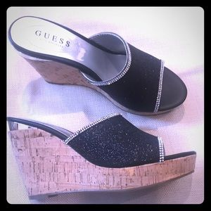Guess Sparkle Wedges